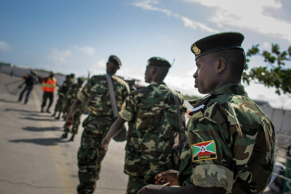 Image result for BURUNDI SOLDIERS IN SOMALIA""