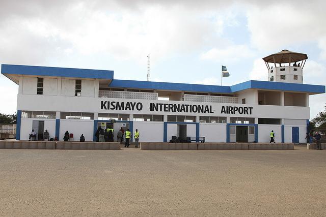 Kismayo Airport Refurbished Amisom