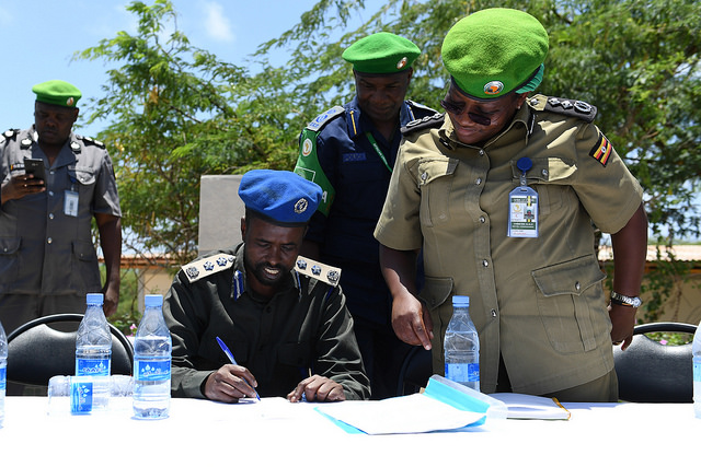 Image result for AMISOM police recruitment